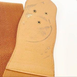Accessories - Boho Beaded Faux Leather Cinch Waist Belt